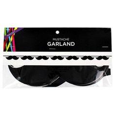 Mustache Garland
