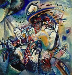 Moscou, par Wassily Kandinsky