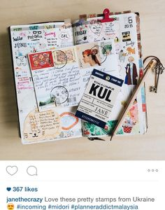 Journaling is fun! Follow my insta for more @janethecrazy