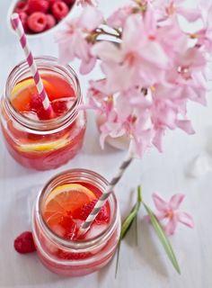 Raspberry Lemon Iced Tea | 24 Delicious Ways To Take Your Iced Tea Up A Notch