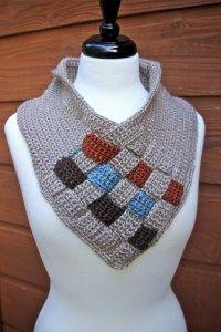 Woven crochet