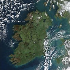Ireland  -  It is the third-largest island in Europe and the twentieth-largest island on Earth