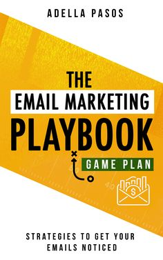 The Email Marketing Playbook - New Strategies to get your Emails Noticed: Learn How to use Email Marketing to get sales and build High Quality Email Marketing campaign by Adella Pasos    What Will I Learn? >>Email Marketing Basics >>Best Practices for Email Marketing >>How to Choose an Email Marketing Provider and more