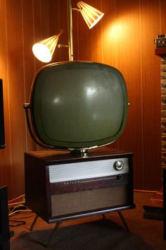 "Philco, I can just picture the rest of that basement now, even down to the ""fallout shelter"""