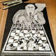Finished article  #political #art #design #politics #power #control #sketch #drawing #artivism #socialartivist #illustration #artwork #police #banks #religion #pharma #courts