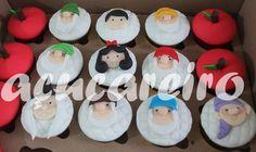 Cupcakes Branca de Neve e Sete Anões