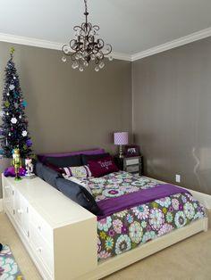 Preteen Glam Bedroom - modern - kids - charlotte - Whirlygig Designs