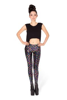 Mermaid Jellybean Leggings - LIMITED