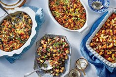 Herbed Wild Rice Dressing - On Poinsettia Drive Best Cornbread Recipe, My Recipes, Cooking Recipes, Thanksgiving Dressing, Cooking Wild Rice, Cornbread Dressing, Sweet Potato Casserole, Dressing Recipe, Serving Platters