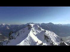 """Die Hirschkarspitze in Bad Hofgastein, von den Einheimischen auch """"Hirschinger"""" genannt. Dieses Filmmaterial kann als Stock Footage erworben werden."""