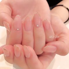 44 Pretty Gel Nails Design You Must Try - Bebeautylife Pretty Gel Nails, Cute Nails, Hair And Nails, My Nails, Kawaii Nails, Colorful Nail, Gel Nail Designs, Nails Design, Minimalist Nails