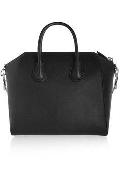 Givenchy   Medium Antigona bag in black leather   NET-A-PORTER.COM