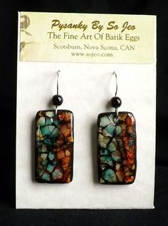Eggshell Mosaic Jewelry by So Jeo