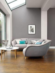 Los colores fríos son tranquilos y serenos. Ayudan a calmar las emociones y los sentidos, haciéndolos perfectos para espacios en los que desea descansar, relajarse y revitalizarse. Nuestra gama de grises de Colores del Mundo es ideal para salones.