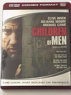 Children of Men HD DVD 2007 HD DVD/DVD Hybrid Clive Owen J Moore M Caine Drama