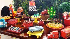 Festa linda de ontem Carros Disney para Davi #analufestas #festacarros #festacarrosdisney com @villa_do_acucar @valdocinhos @licapedrosolocacoes