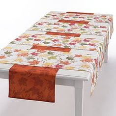Food Network™ Fall Leaves 5-pc. Reversible Table Runner Set