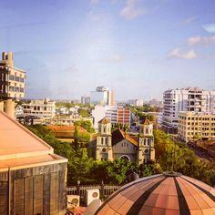 Mombasa City View #mombasa #kenyatourism #discoverkenya #makeitkenya