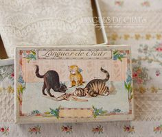 ノスタルジックピンクの小花刺繍アンティークファブリック - O Bel Inventaire-Bis*アンヴァンテール・ビス*