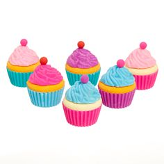 Cup Cakes Eraser Box   Smiggle