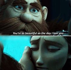 """Stoick and Valka finally reunite! - """"You're as beautiful as the day I lost you..."""" <3 <:')"""