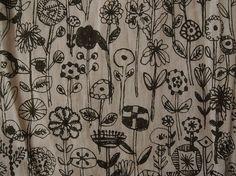 carta de flor / coleção têxtil / Mina Perhonen gota de compra entrega em domicílio especialidade loja de [queda]