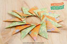Tutorial: Estrella modular de origami