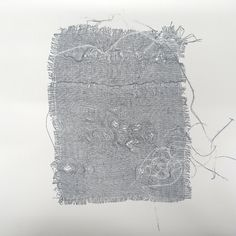 Monoprinting with Scrim – Handprinted Textile Fiber Art, Textile Prints, Textiles, Painting Lessons, Art Lessons, Book Binding Cloth, Art Terms, Art Journal Pages, Fabric Painting