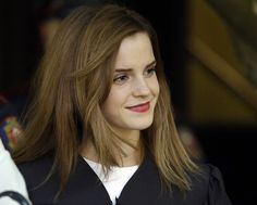 Emma Watson - graduating from Brown University! For those of you that don't think that's a big deal…HELLO, Ivy League School!