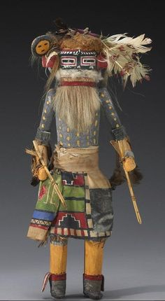 Old Hopi Kachina Dolls | Via Ԁεɞ ғıṡһɞәïи