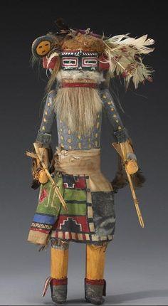Old Hopi Kachina Dolls | Via Ԁεɞ ғıṡһɞәïи