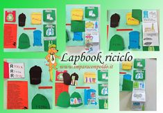 A Scuola con Poldo: Lapbook riciclo Elementary Science, Home Schooling, Earth Day, Book Activities, My Children, Montessori, Homeschool, Family Guy, Kids Rugs