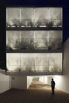 architects Adamo-Faiden have completed a building in Buenos Aires that could either be used for offices or apartments.