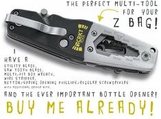 The Perfect Multi-Tool for your Z-Bag