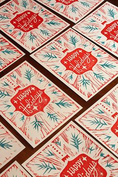 Holiday card  -  Torso Vertical Inspirations www.torsovertical.com