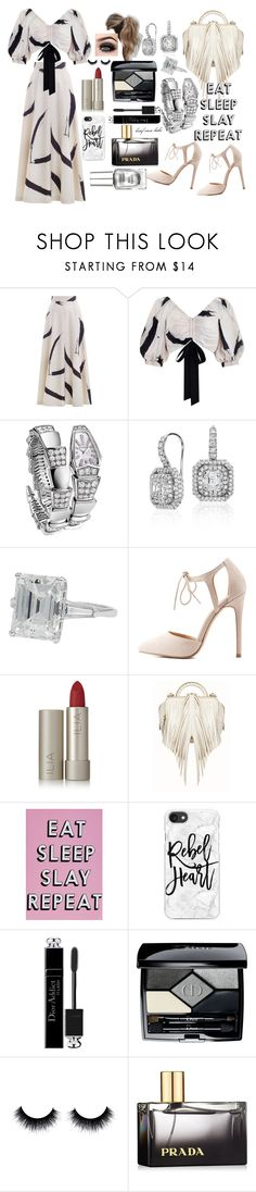 """""""CHROME NAILS!!"""" by brief-case-babe ❤ liked on Polyvore featuring Zimmermann, Bulgari, Blue Nile, Charlotte Russe, Ilia, The Volon, Missguided, Casetify, Love Couture and Christian Dior"""