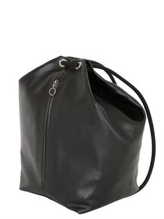 Smooth leather backpack, chic minimal bag // MM6 Maison Margiela