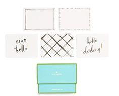 Hello darling Kate Spade stationery set