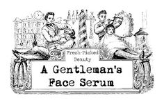 A Gentleman's Face Serum:     for skin soothing and protecting serum. healing, wrinkles and mature skin. with delicious Neroli essential oil and woodsy Sandalwood.  This formula also doubles as a beard conditioning oil too.