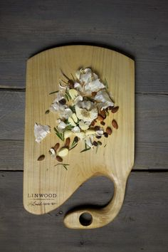 127. Large Handmade Maple Wood Cutting Board by Lin of Linwood