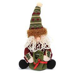 SOLMORE Santa Claus Snowman Deer Table Ornament Indoor Christmas Standing Decoration -Santa Claus: Amazon.co.uk: Lighting