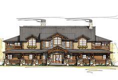 Craftsman Plan: 5,198 Square Feet, 5 Bedrooms, 5.5 Bathrooms - 8504-00021