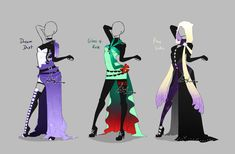 Outfit design - 279 - 281 - closed by LotusLumino on DeviantArt