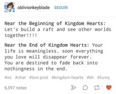 "THERE WILL BE NO ""END"" TO KINGDOM HEARTS. NEVER!"