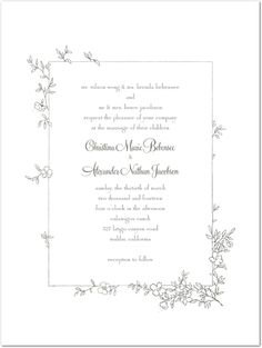 Wedding invites on pinterest wedding invitations save for Cheap thermography wedding invitations