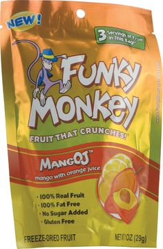 Funky Monkey Freeze-Dried Fruit MangOJ™ -- 1 oz