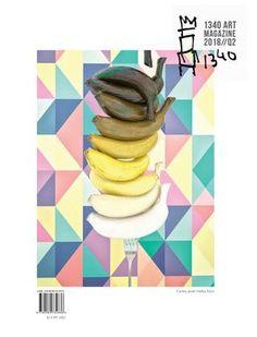"Cover of ""1340 ART Magazine Q2 // 2018"""