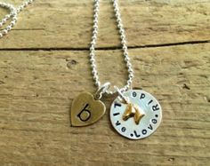 Horse Jewelry Personalized Riding Necklace Horse Hunter by tagsoup