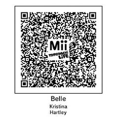 "tomodachi life - QR code ""Belle""!!"