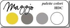 Palette Colori Maggio - Hobby di Carta